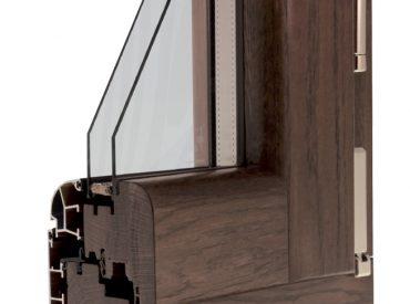 Finestre in Legno/Alluminio – Leader 82